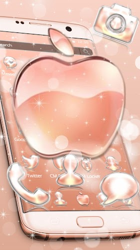 Crystal Apple Theme Glitter Sparkle Icons APK | APKPure ai