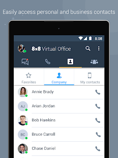 8x8 Virtual Office- screenshot thumbnail