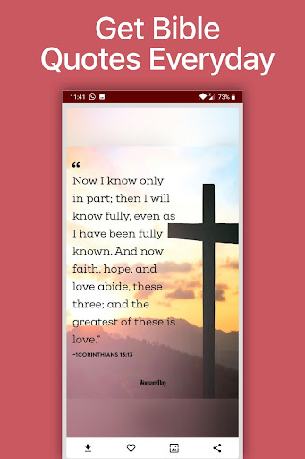 Bible quotes app: Daily Bible Verses App Report on Mobile