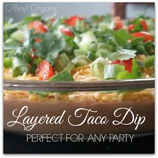 Layered Taco Dip - Perfect for Parties.