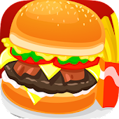 Kids Burger Maker Cooking Game