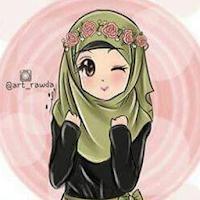 Cute Muslimah Cartoon Wallpaper Offline