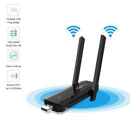 Amplificator de retea Wi-Fi 300Mbps cu conectare la port USB si doua antene