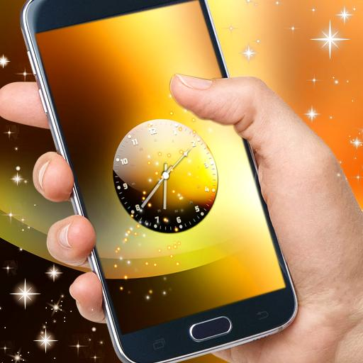 個人化必備App|Clock Live Wallpaper Free LOGO-綠色工廠好玩App