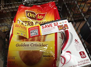 Photo: On the bag was a coupon for $2.00 off the purchase of Ore-Ida Fries, Tyson Chicken Nuggets and Heinz Ketchup. Perfect! That is just what I am buying!