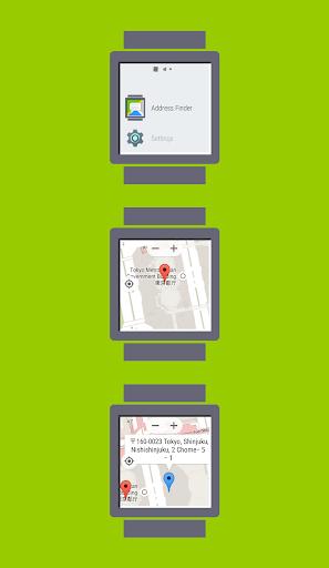Address Finder for Wear