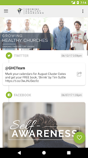 Growing Healthy Churches, Inc.- screenshot thumbnail