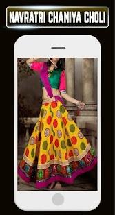 Navratri Chaniya Choli Indian Women Traditional HD - náhled