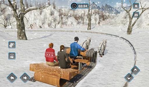 Snow Dog Sledding Transport Games: Winter Sports 1.4 screenshots 15