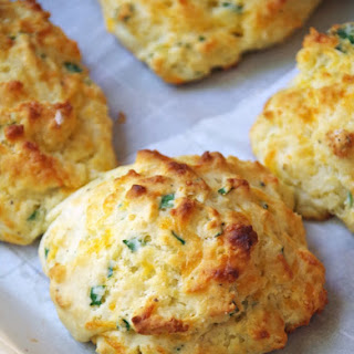 Homemade Buttermilk Biscuit Recipe with Cheddar and Chives