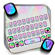 App Colorful Holographic Keyboard Theme APK for Windows Phone