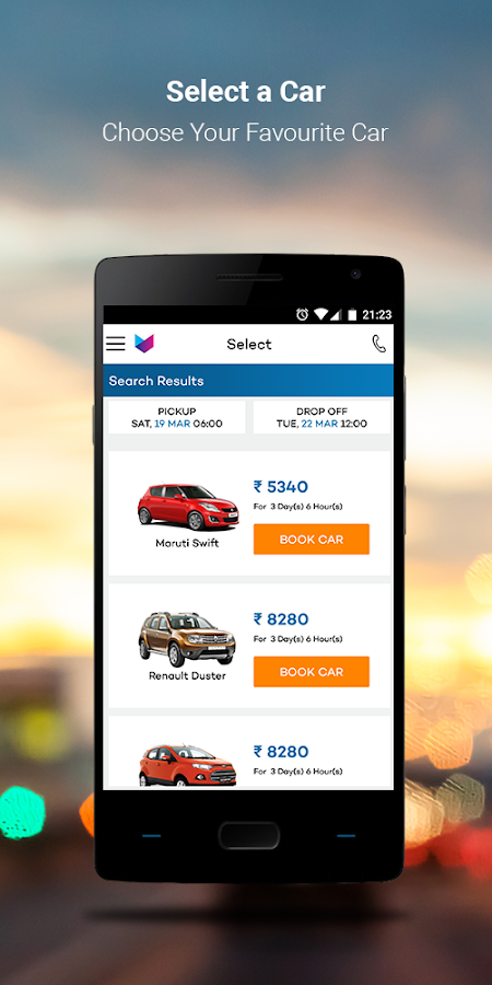 Voler - Self Drive Car Rentals- screenshot