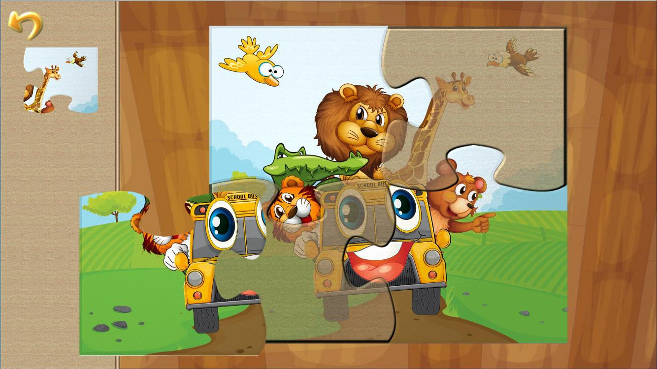 Animal Car Puzzles for Kids- screenshot