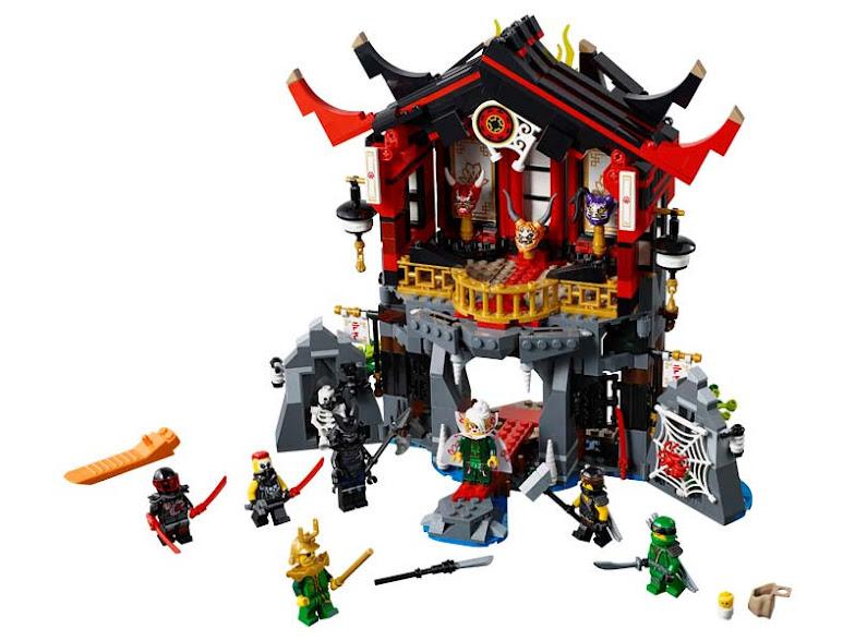 Contenido de Lego® 70643 Templo de la Resurrección