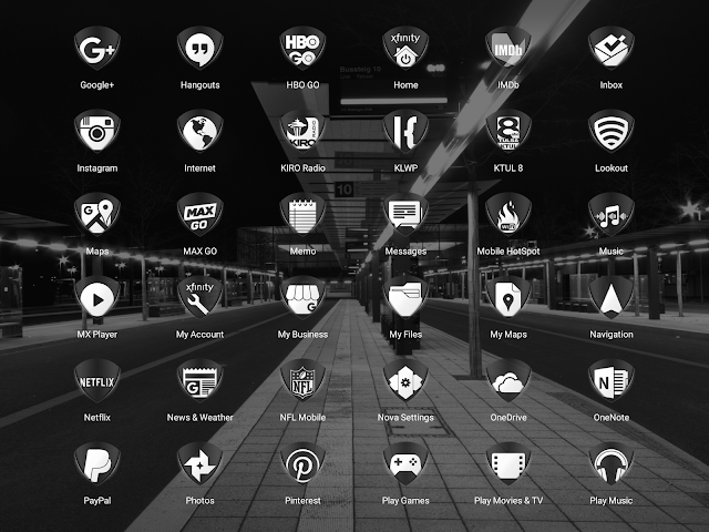 android Tuck It W - Icon Pack Screenshot 10