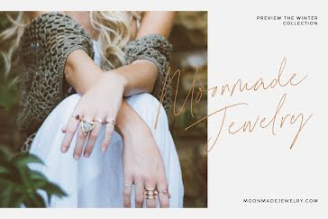 New Jewelry Collection - Postcard template