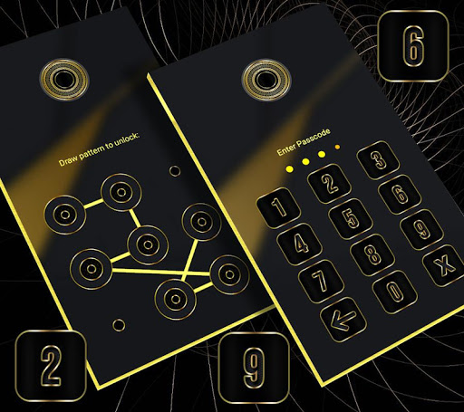Gold Black Launcher Theme 2.1 4
