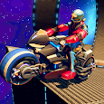 Robot Extreme Bike Stunt: Stunts Bike Game
