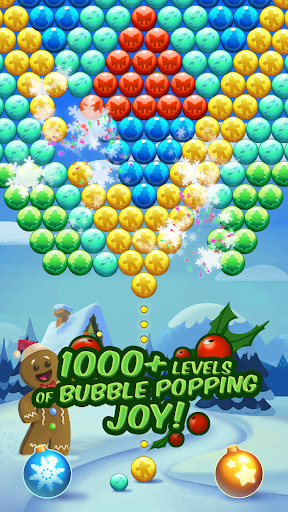 Christmas Cookie - Bubble Pop Screenshot
