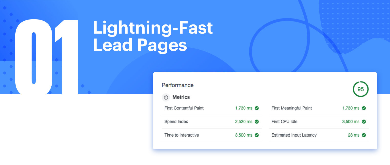 Fast Lead Page Performance