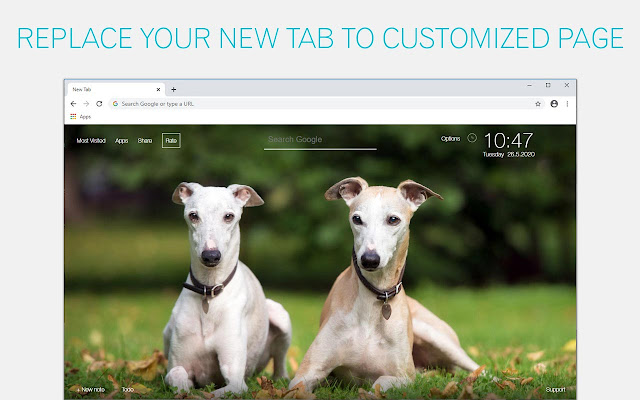 Greyhound Dog Wallpaper HD Greyhound Puppy New Tab