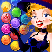 Bubble Shooter Magic Witch