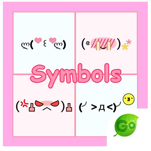 GO Keyboard Sticker Symbols
