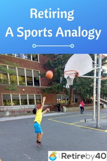 Prendre sa retraite comme une analogie sportive