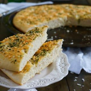 Cheesy Garlic Foccacia Bread