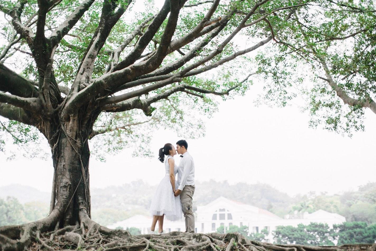 台中美式自助婚紗外拍攝景點-中興新村