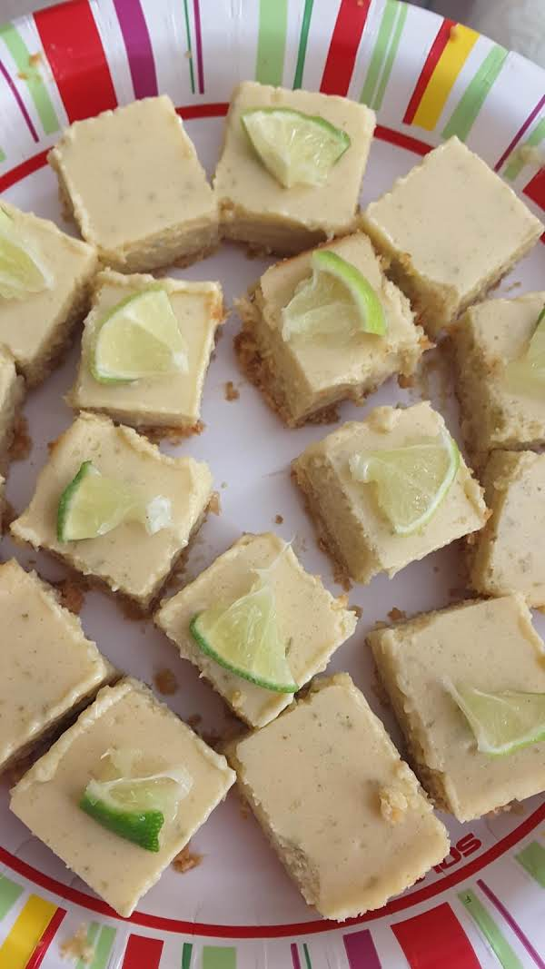 Key Lime Bars Test Kitchen