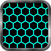 Neon Honeycomb Live Wallpaper