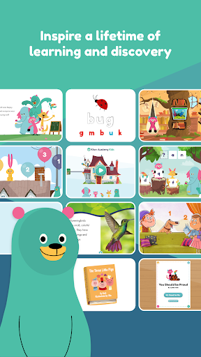 Khan Academy Kids: Free educational games & books screenshot 2