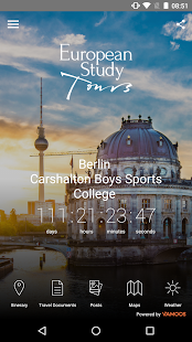 EST Travel App - náhled