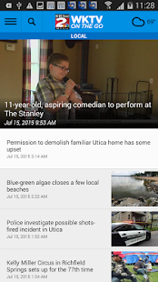 WKTV NewsChannel 2- screenshot thumbnail