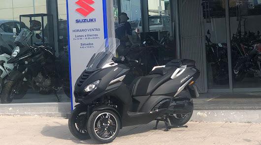 Peugeot Metropolis un scooter de tres ruedas