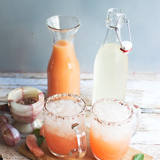 Salty Dogs with Bacon-Infused Vodka Recipe