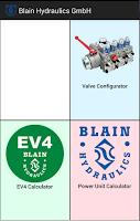 Screenshot of Blain Apps EV, EV4, Power unit
