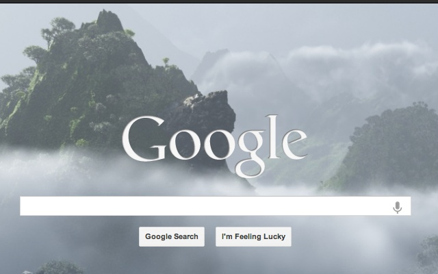 Background Image for Google Homepage Chrome Web Store