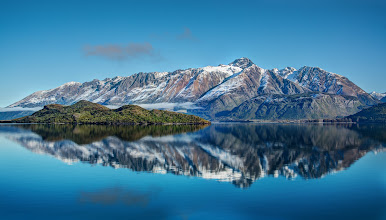 Photo: Mountains on the way to Queenstown from Glenorchy.