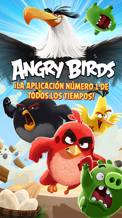Angry Birds: captura de pantalla