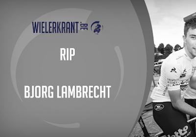 """Ploegmaats uit BinckBank Tour namen al afscheid van Bjorg Lambrecht: """"Zeer emotioneel"""""""