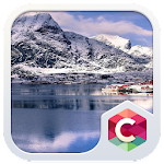Snow Winter Mountains Theme: Nature Icon
