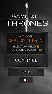 Quiz for Game of Thrones- screenshot thumbnail