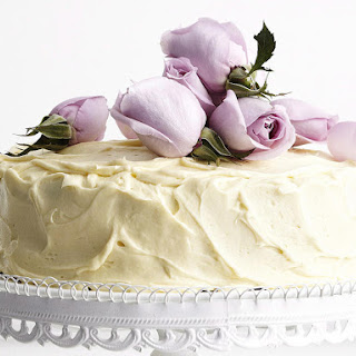 White Chocolate Rose Cake.
