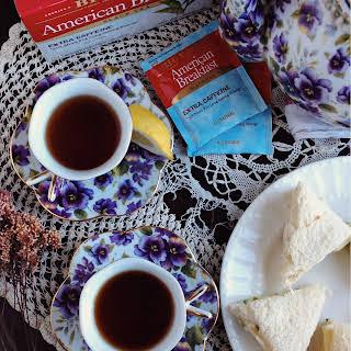 Cream Cheese Tea Sandwiches Recipes.