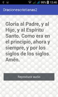Oraciones cristianas con sonido - náhled