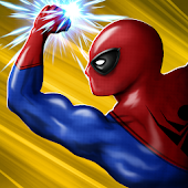 Super Spider Hero War Infinity Fight
