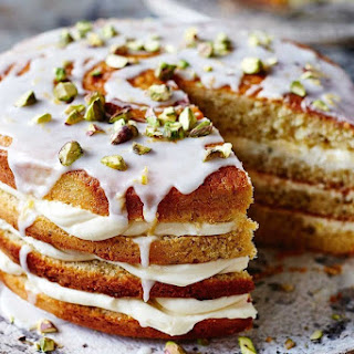 Pistachio And Lemon Layer Cake