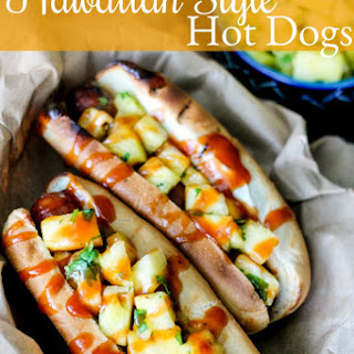 Hawaiian Style Hot Dogs.